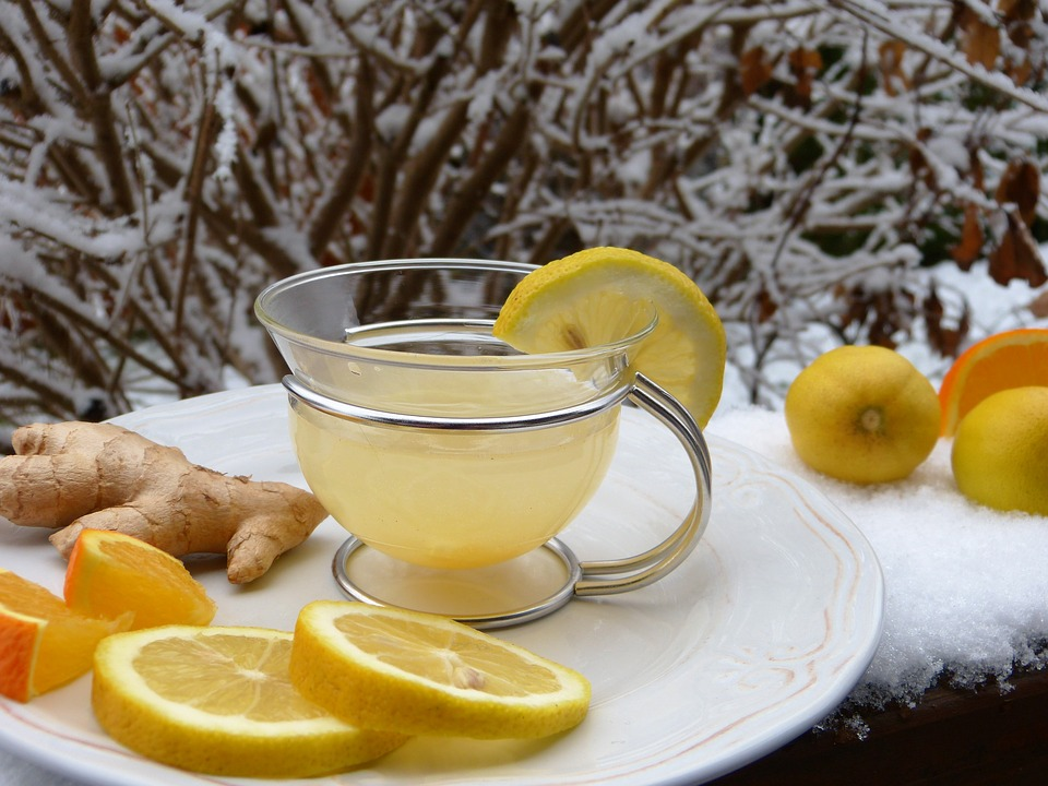 Ginger and Lemon Tea